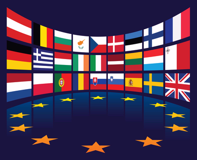 Europe flags startpage